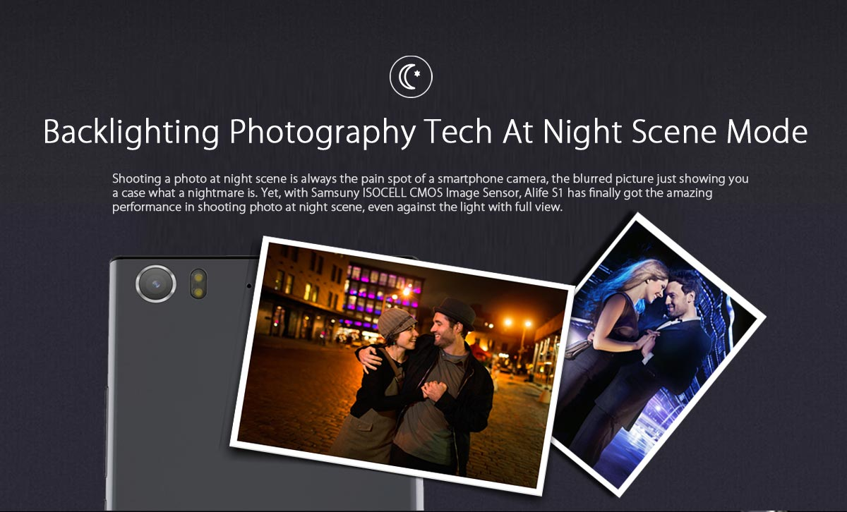 alife s1 backlighting photography tech at night scene mode