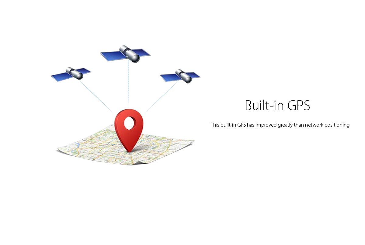 built in GPS