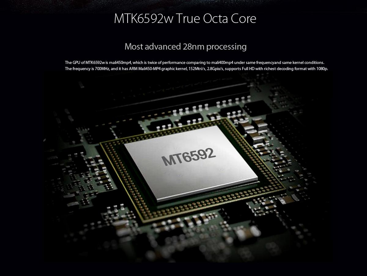 blackview arrow with MTK6592 Octa-core 1.7GHz
