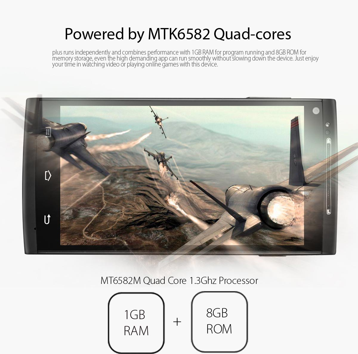 blackview jk900 with MTK6582 Quad core 1.3GHz